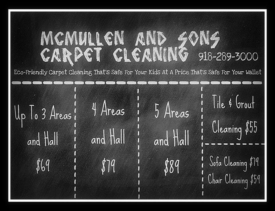 McMullen & Son's Carpet Cleaning