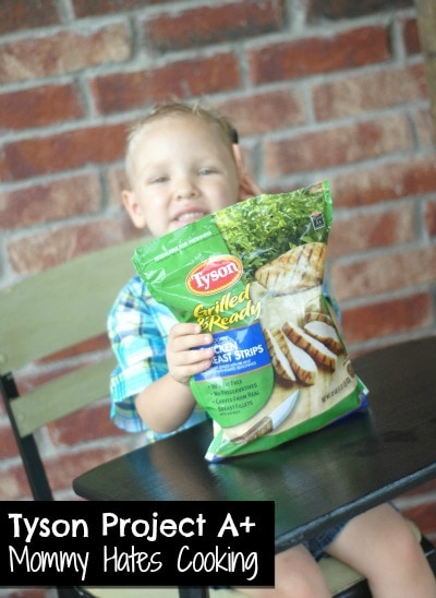 #ad Grilled Chicken Roll Ups & Tyson Project A+ Back to School #cbias #clip4school
