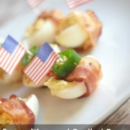 Jalapeño Bacon Wrapped Deviled Eggs