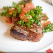 Grilled Bruschetta Steaks I Mommy Hates Cooking