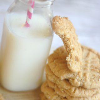 Peanut Butter Oatmeal Cookies {Gluten Free Optional}