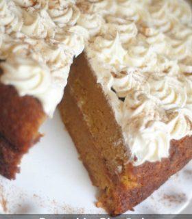 {Decades of Desserts} Pumpkin Pie Cake
