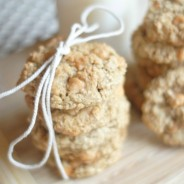 Oatmeal Scotch Cookies {Gluten Free Optional}