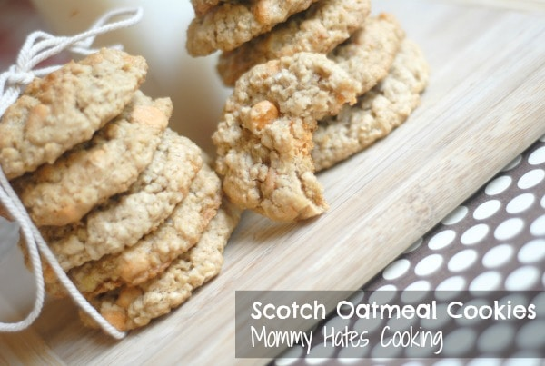 Scotch Oatmeal Cookies