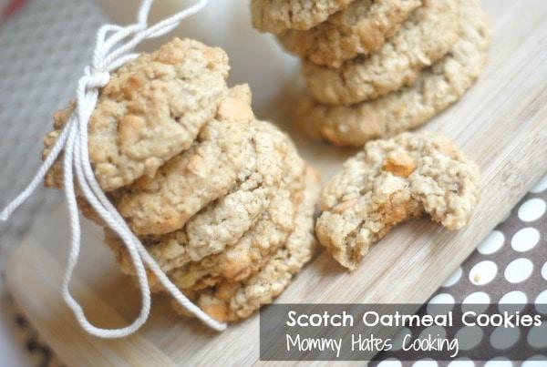 Scotch Oatmeal Cookies