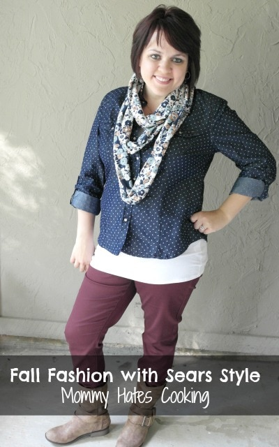 Fall Affordable Fashion Must Haves with Sears Style - Mommy