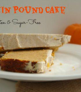 Pumpkin Pound Cake {Gluten Free} & Make Bake Create