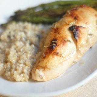 Maple Chicken and Rice Bake