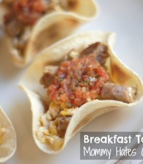 {Giveaway} Breakfast Taco Cups