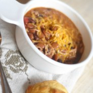 Slow Cooker Mexican Chicken Chili