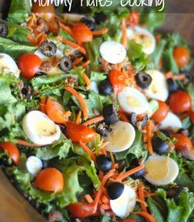 {Healthier Highlights} Salad Recipes Round Up