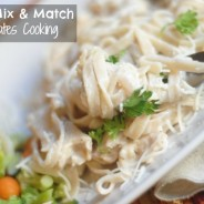 #ad Tyson Chicken Alfredo with Mix & Match Meals #MixNMatchMeals #cbias