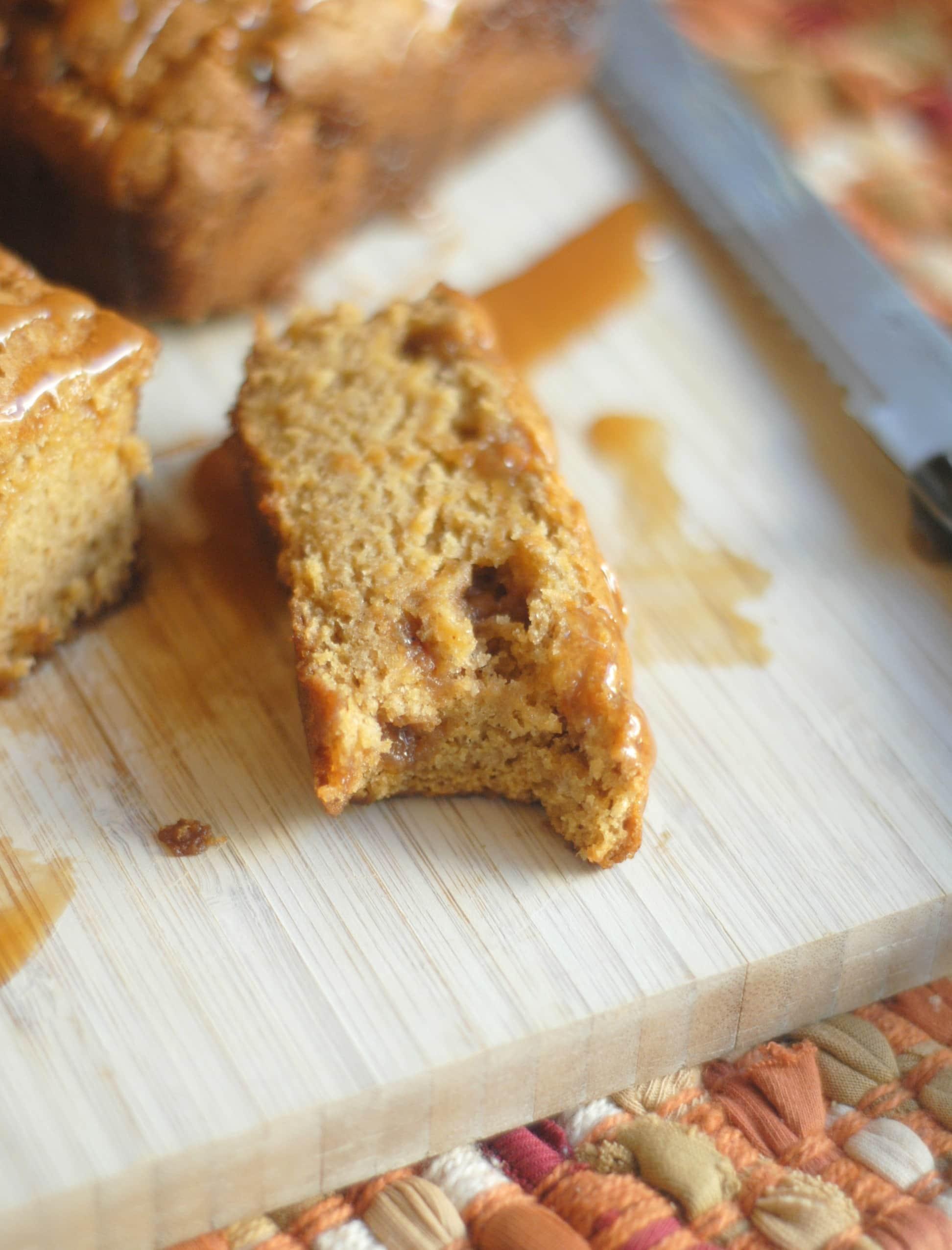 Caramel Pumpkin Bread