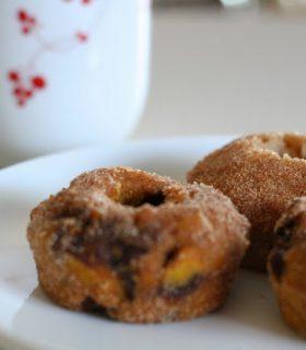 Pumpkin Chocolate Chip Doughnuts & Make Bake Create