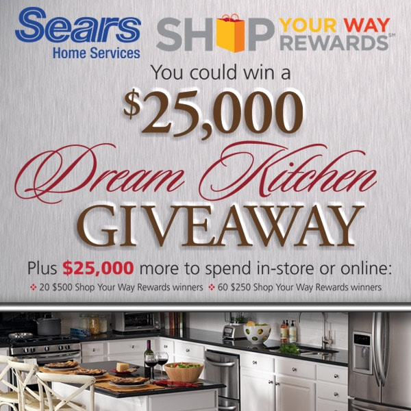 Bon Sears Dream Kitchen Sweepstakes