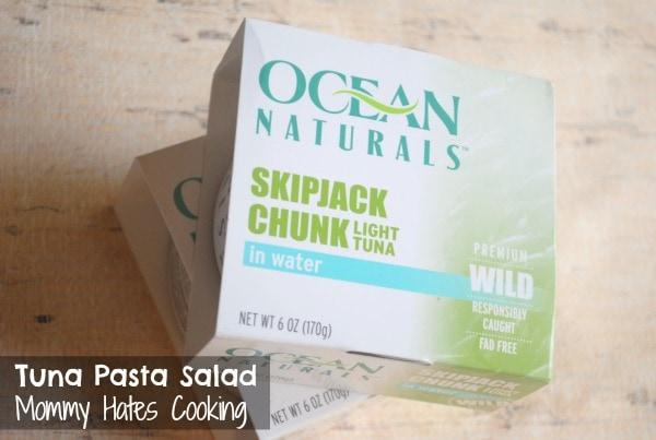 Tuna Pasta Salad with Ocean Naturals #OceanNaturals #shop #cbias
