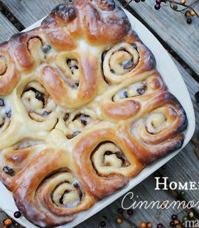 Homemade Cinnamon Rolls & Make Bake Create