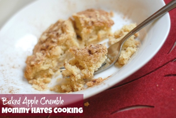 Baked Apple Crumble with Great Day Farms #GreatDay