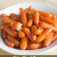 Cider Glazed Carrots