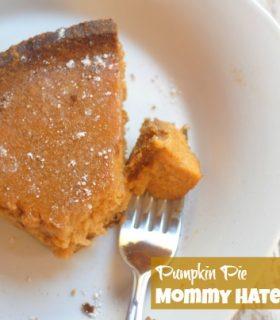 {Decades of Desserts} Pumpkin Pie