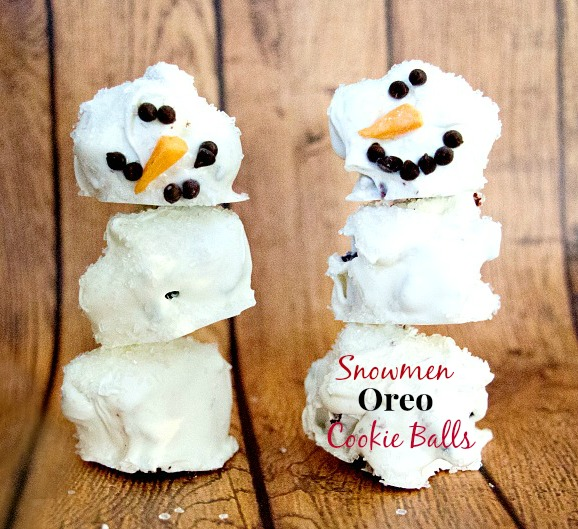 Oreo Snowmen Cookie Balls I Mommy Hates Cooking
