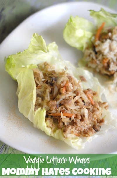 Veggie Lettuce Wraps I Mommy Hates Cooking #SimpleStart