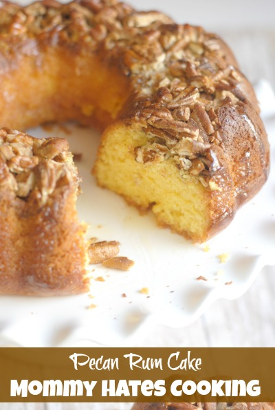 Pecan Rum Cake I Mommy Hates Cooking