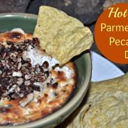Hot Parmesan Pecan Dip