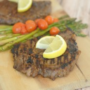Indoor Balsamic Grilled Steaks I Mommy Hates Cooking