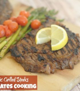 Balsamic Grilled Steaks