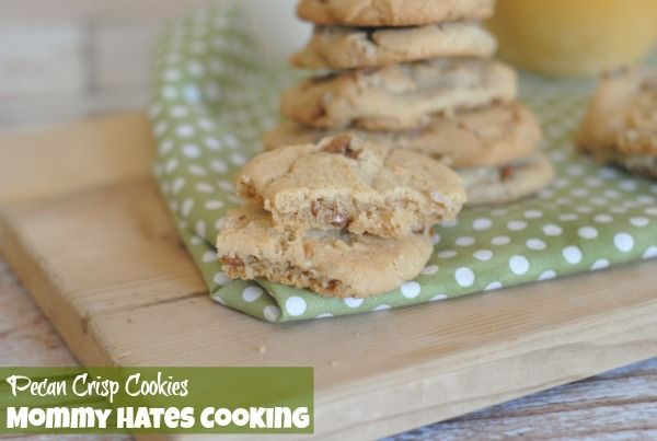 Pecan Crisp Cookies I Mommy Hates Cooking