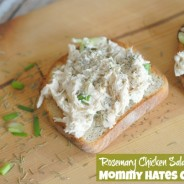 Rosemary Chicken Salad I Mommy Hates Cooking