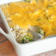 Cheesy Chicken & Broccoli Bake I Mommy Hates Cooking