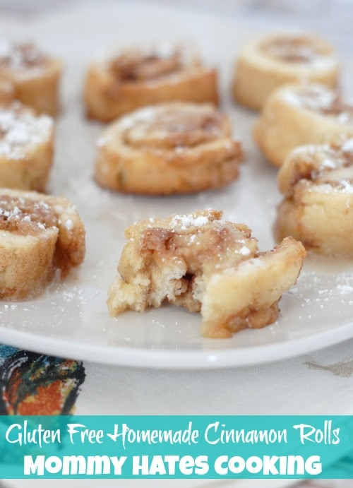 Gluten Free Homemade Cinnamon Rolls I Mommy Hates Cooking