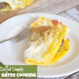 Hamburger Stuffed Omelets