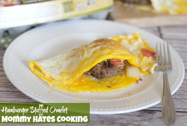 Hamburger Stuffed Omelets I Mommy Hates Cooking