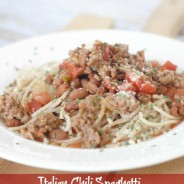 Italian Chili Spaghetti I Mommy Hates Cooking