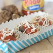 Ragu Spaghetti Cupcakes
