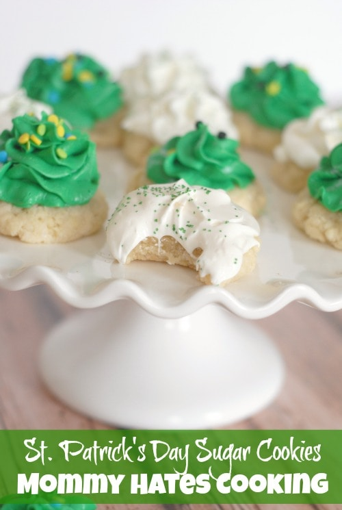 St. Patrick's Day Cookies I Mommy Hates Cooking