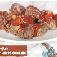 Tangy Meatballs I Mommy Hates Cooking