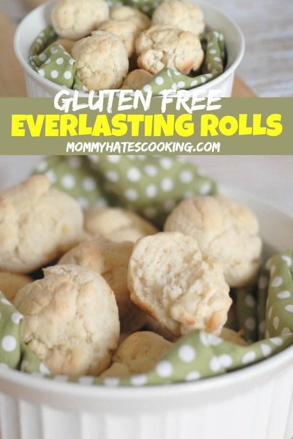 Gluten Free Everlasting Rolls