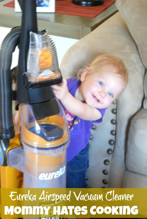 Eureka Airspeed All Floors Vacuum Cleaner I Mommy Hates Cooking #EurekaPower #shop