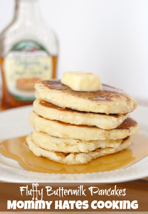 Fluffy Buttermilk Pancakes I Mommy Hates Cooking