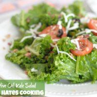 Garlic & Olive Oil Kale Salad