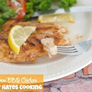 Grilled Lemon BBQ Chicken