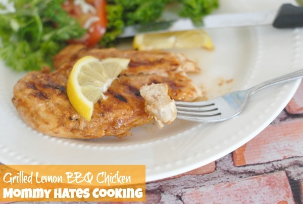 Grilled Lemon BBQ Chicken & Wet-Naps  I Mommy Hates Cooking #ShowUsYourMess #PMedia #ad