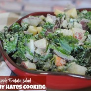Kale & Apple Potato Salad with Miracle Whip #ProudofIt #Sponsored