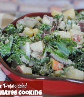 Kale & Apple Potato Salad