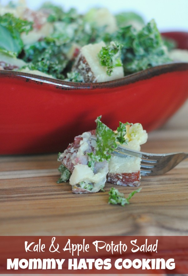 Kale & Apple Potato Salad with Miracle Whip #ProudofIt #Sponsored