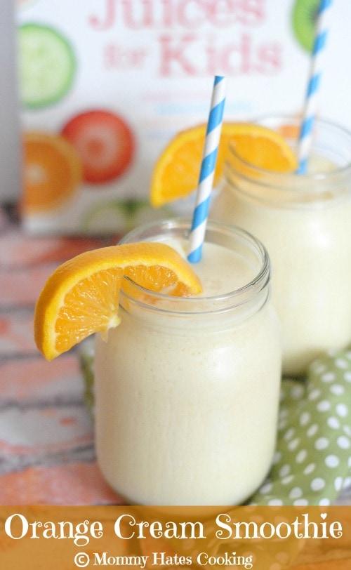 Orange Cream Smoothie I Mommy Hates Cooking